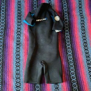 Junior rip curl wetsuit